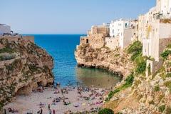 kobyli Italy polignano Puglia obrazy stock