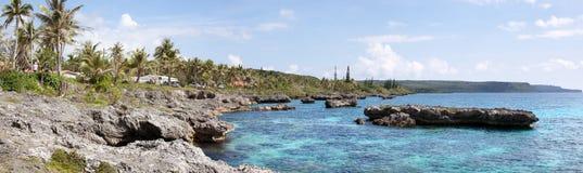 Kobylia wyspy panorama fotografia stock