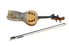 kobyz do instrumento musical Fotografia de Stock