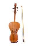 Kobyz popular do instrumento musical do Cazaque Fotografia de Stock