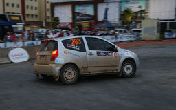 Kocaeli Rally Royalty Free Stock Photography