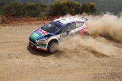 Kocaeli Rally 2016 Royalty Free Stock Images