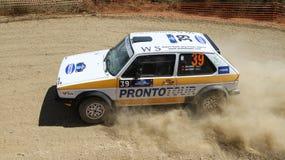 Kocaeli Rally 2016 Royalty Free Stock Photo