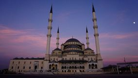 Kocatepe Cami Mosque Imagem de Stock Royalty Free