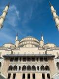 Kocatepe moské i Ankara Turkiet Arkivbild
