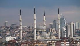 Kocatepe moské i Ankara Fotografering för Bildbyråer