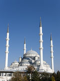 Kocatepe Mosque. Is a landmark of Ankara, Turkey Royalty Free Stock Photos