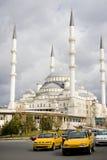 Kocatepe Mosque, Ankara. Kocatepe Mosque,the largest  mosque in Ankara,Turkey Royalty Free Stock Images