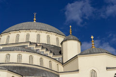 Kocatepe Mosque in Ankara - Dome details Royalty Free Stock Photography