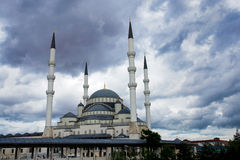 Kocatepe Mosque in Ankara - Turkey Royalty Free Stock Images