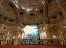 Kocatepe Mosque interior, Ankara, Turkey Royalty Free Stock Photos