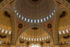 Kocatepe Mosque Interior, Ankara, Turkey Royalty Free Stock Images
