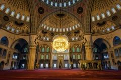 Kocatepe Mosque (Kocatepe Cami) interior Stock Photography