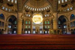 Kocatepe Mosque (Kocatepe Cami) interior Royalty Free Stock Photos