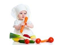 Koch-Baby lizenzfreie stockbilder