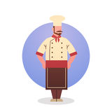 Koch-Icon Chef Professional-Restaurant-Sitzstreik Stockbilder