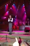'Kocha Ja: ' Dennis DeYoung w Błękitnym popióle Fotografia Royalty Free