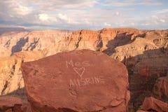 Kocha Podpisuje wewnątrz parka narodowego Preserve3 - Uroczysty jar Fotografia Stock