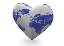 Kocha serce - 3D Obraz Royalty Free