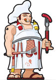 Kochabbildung Stockbild