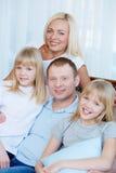Kochająca rodzina fotografia royalty free