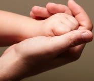 kochający dotyk Zdjęcie Royalty Free