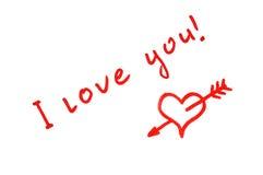 kocham cię ilustracji