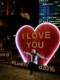 Kocham Ciebie od Żywego Zdjęcie Stock