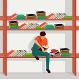Kocham czytelniczą ilustrację Obraz Stock