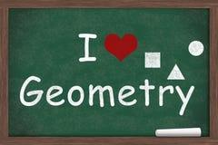 Kocham geometrię zdjęcie stock