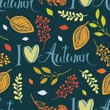 Kocham jesień ilustracji