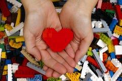 Kocham Lego Zdjęcie Stock