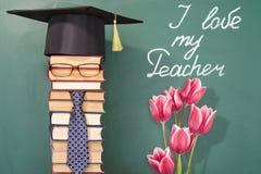 Kocham mój nauczyciela Zdjęcie Stock