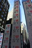 Kocham Nowy Jork Zdjęcie Royalty Free