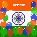 Kochamy India ilustracja wektor