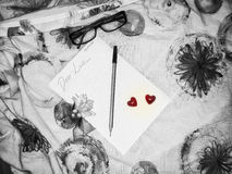Kochana miłość Fotografia Stock