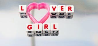 Kochanek dziewczyna Fotografia Stock