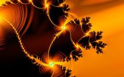 kochanie fractal kwiatek royalty ilustracja