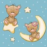 Kochanków niedźwiedzie royalty ilustracja