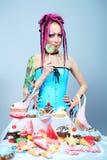 kochanka cukierki Zdjęcie Royalty Free
