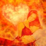 kochankowie Fotografia Royalty Free