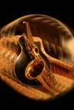 kochankowie muzyczne Obrazy Royalty Free