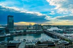 Kochany schronienie Sydney Australia przy zmierzchem Obraz Royalty Free