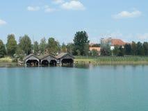 Kochelsee lata widok na jeziorze fotografia royalty free
