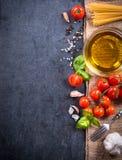 Kochen der Bestandteile Lizenzfreies Stockfoto
