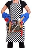Kochen der Frau Stockbilder