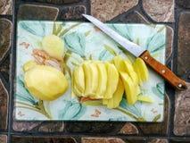 Kochen der Kartoffel Lizenzfreies Stockfoto