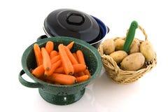 Kochen der täglichen Mahlzeit stockfoto