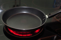 Kochen der Wanne stockfotografie