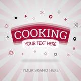 Kochen des Deckblatts amerikanische kochende Spitzen, chinesisches kochendes Deckblatt chinesisches Kochbuch kann für Förderung,  stock abbildung